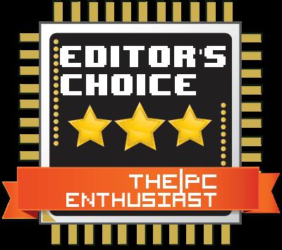 thepcenthusiast editor's choice award