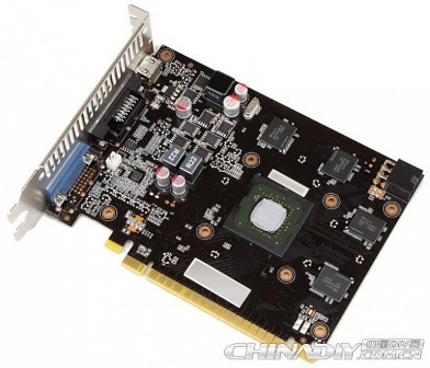 geforce gtx 750 maxwell pcb front