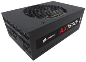 Corsair AX1500i Full Modular PSU 80 Plus Titanium Certification