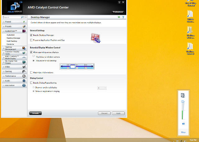 how to fix windows volume control in the center screen