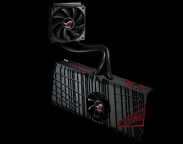 Asus ARES III 8GB Dual Chip Hawaii Graphics Card On Its Way