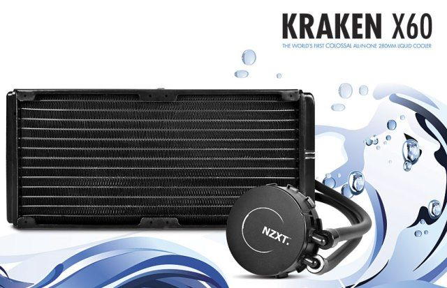 nzxt kraken x60 review