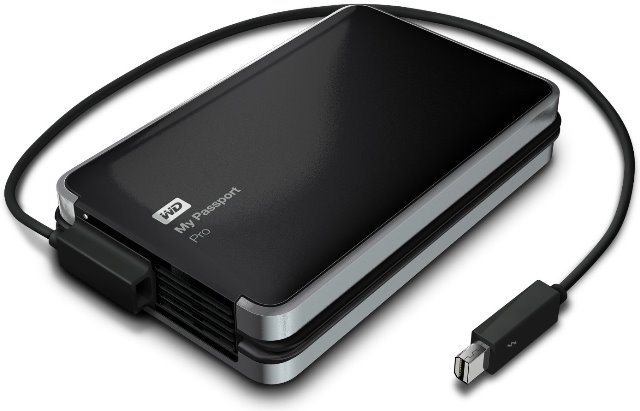 wd my passport pro features