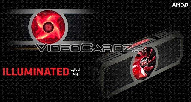 AMD Radeon R9 295X2 Illuminated Logo