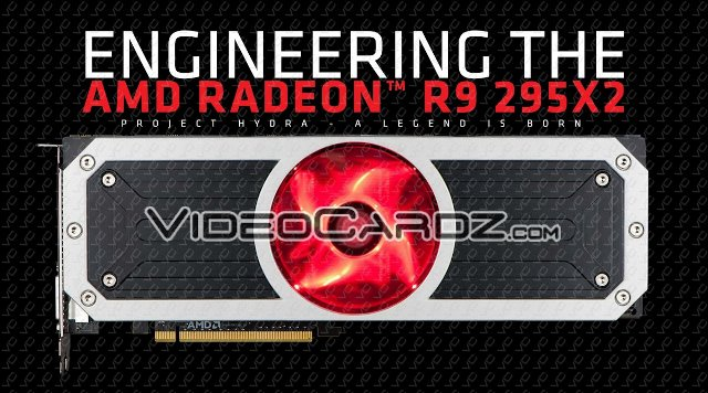 AMD Radeon R9 295X2 Vesuvius Official Specifications and Press Slides Leaked Ahead of Launch