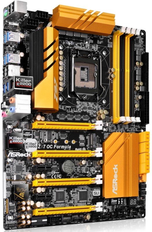 Asrock Z97 OC Formula Z97 Motherboard Revealed – Designed for Overclockers and Enthusiasts