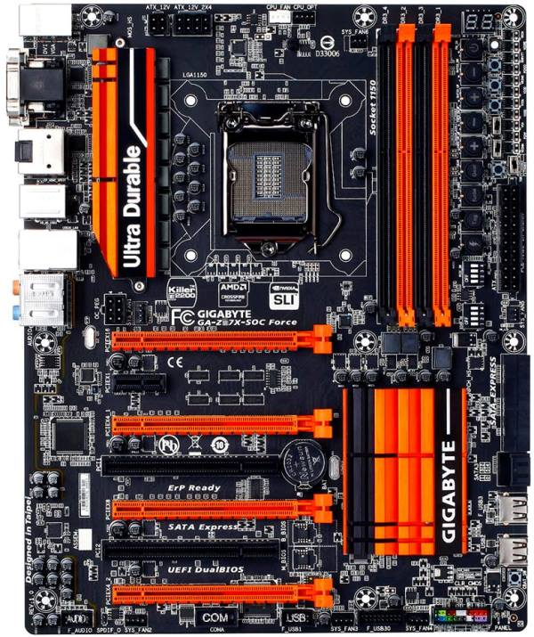 Gigabyte GA-Z97X-SOC Force