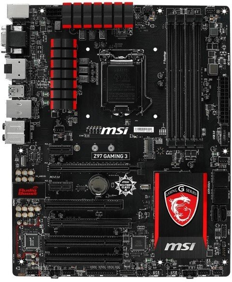 MSI Z97 Gaming 3 Specifications