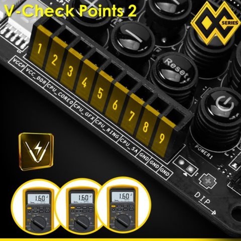 MSI Z97 Motherboards V-Check Points 2