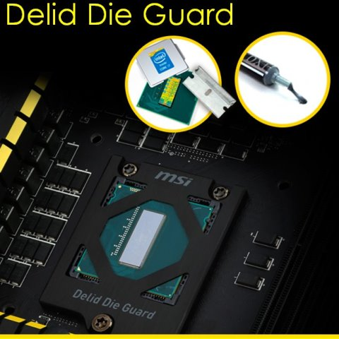 MSI Z97 XPOWER AC Delid Die Guard Feature