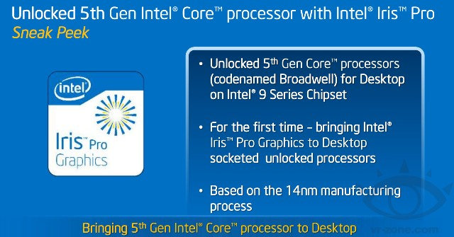 5th gen intel broadwell with iris pro release date
