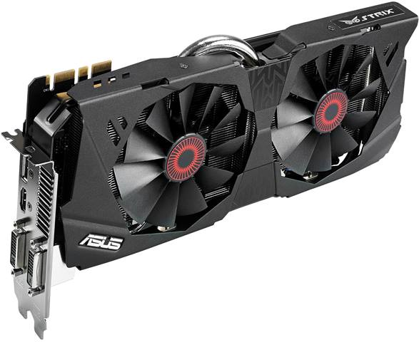 Asus GTX 780 STRIX 6GB Specifications