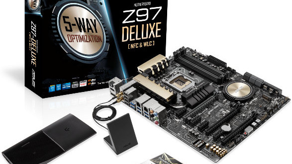 Asus Z97-DELUXE (NFC & WLC) review