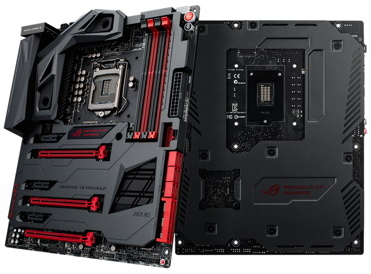 Asus Maximus VII Formula Z97 Motherboard Revealed