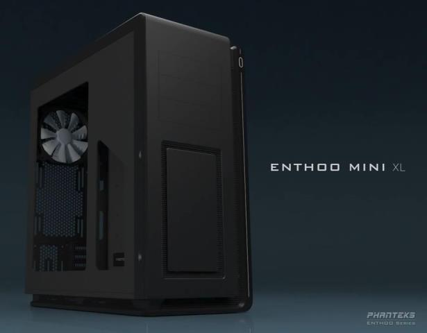 Phanteks Enthoo Mini XL Case Revealed – Supports Both Micro-ATX and Mini-ITX Motherboards