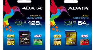 ADATA SDXC UHS-I Speed Class 3 (U3) Cards