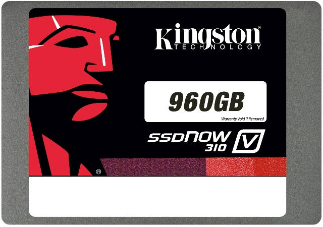 Kingston SSDNow V310 960GB SSD Announced – See Features and Specifications