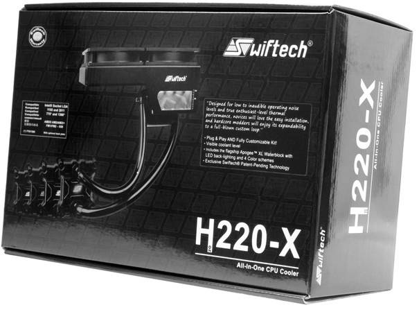Swiftech H220-X CPU Liquid Cooling Kit Released – See Features, Specs and Price