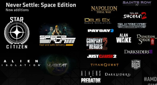 AMD Never Settle Game Bundle