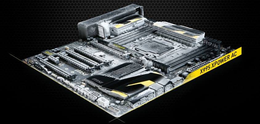 MSI X99S XPOWER AC Overclocking Motherboard Revealed – Features LN2 Support