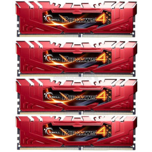 Red G.Skill Ripjaws 4 DDR4