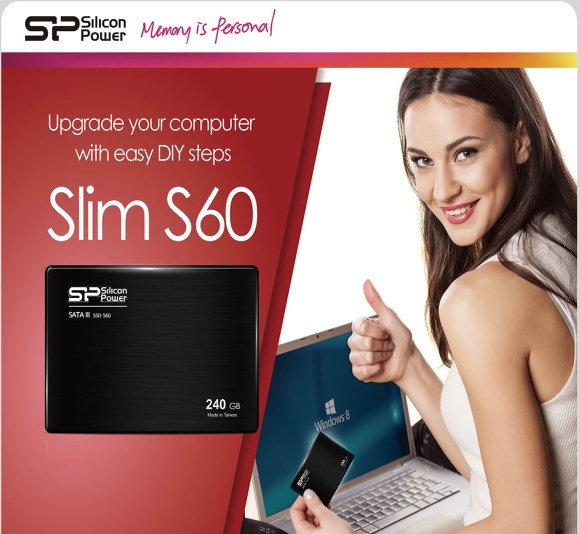 Silicon Power S60 SSD Is a Slim 7mm SSD Perfect for Ultrabook Upgrade
