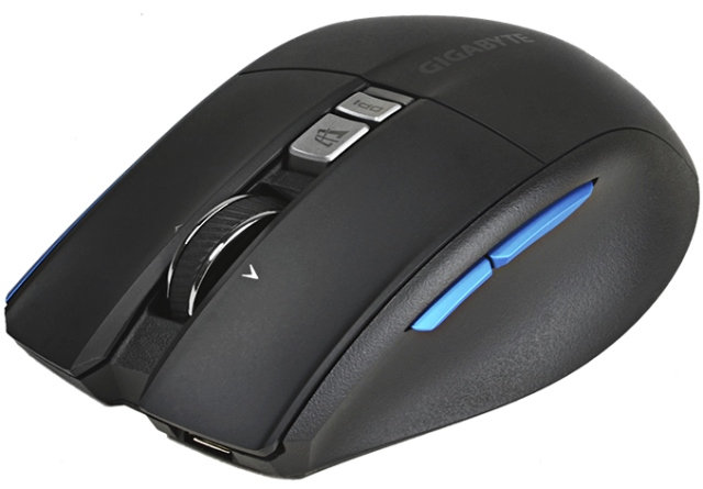 GIGABYTE AIRE M93 ICE Wireless Mouse – Glides on Any Surface
