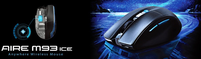 AIRE M93 ICE wireless mouse
