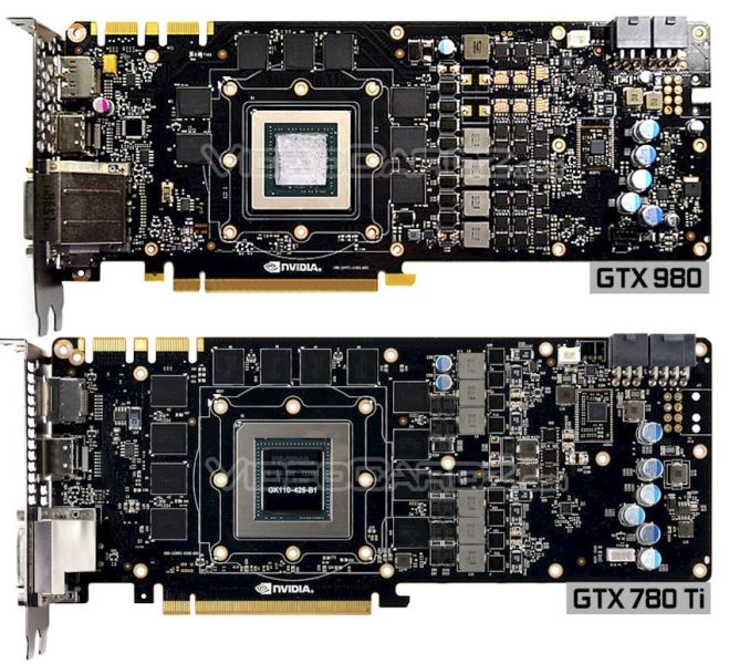 GeForce GTX 980 PCB Front