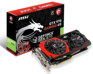 MSI GeForce GTX 970 Gaming 4G TwinFrozr V