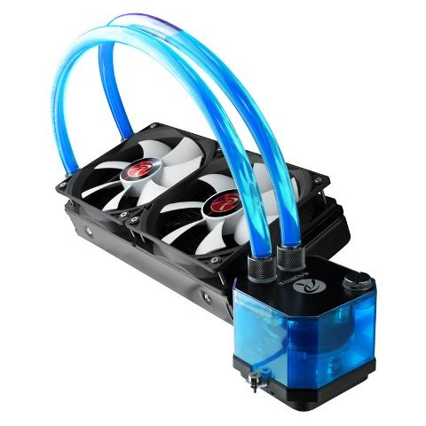 Raijintek Triton AIO CPU Cooler Released – Features Transparent Tubes and Water Blocks