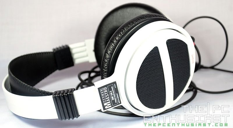 German Maestro  GMP 435 S White Edition Headphone Review-16