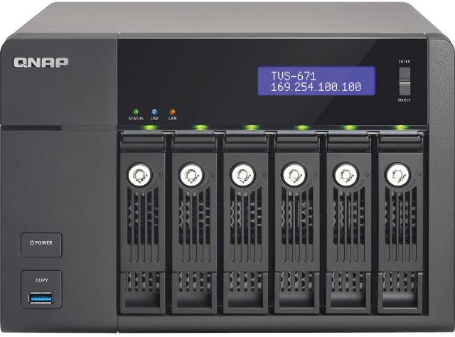 QNAP TVS-x71 Series Turbo vNAS Specifications