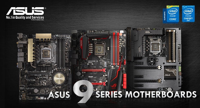 Asus 9 Series Motherboards Now Supports 5th-Generation Intel Core Processors through BIOS Update