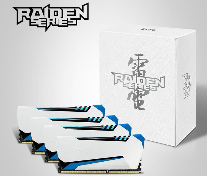 Avexir RAIDEN DDR3 Memory Series Unleashed – Features Lightning Tubes!