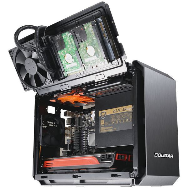 Cougar QBX Mini ITX Case – The Most Advanced Compact Gaming Case According to Cougar