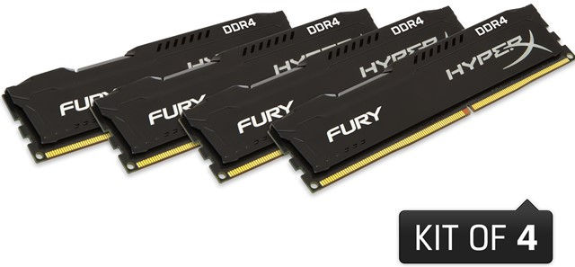 HyperX Fury DDR4 Memory modules