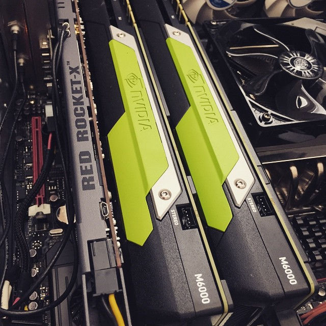 NVIDIA Quadro M6000 Graphics Card Pictured By Deadmau5