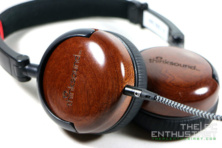 thinksound On1 On-Ear Monitor Headphone Review – Wood is Good!