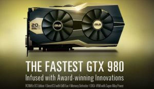 Asus ROG Matrix GTX 980 Gold Edition 20th Anniversary Unleashed – The Fastest GTX 980 Yet