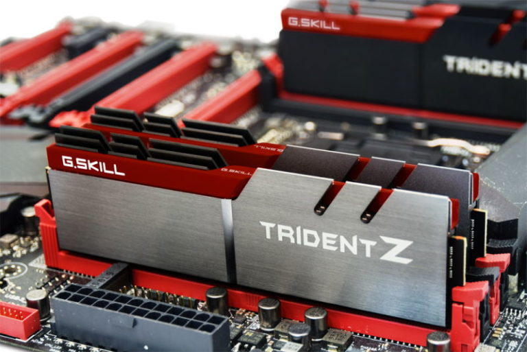 G.Skill Trident Z DDR4 Memory Series Showcased at Computex 2015
