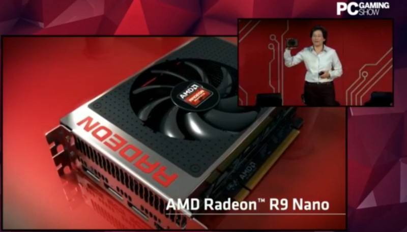 AMD Radeon R9 Nano Announced, It's Tiny and it's Powerful