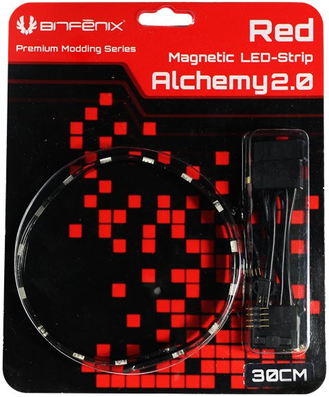 BitFenix Alchemy 2.0 LED Strips Released, Now Comes With Magnets