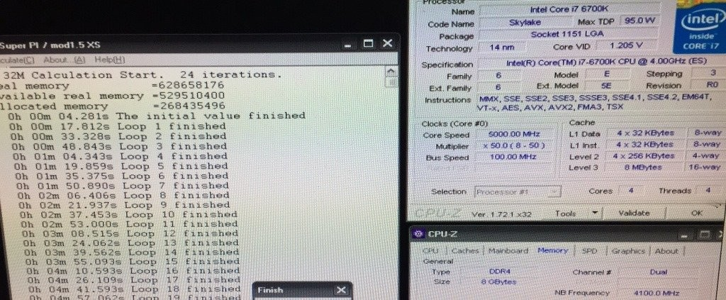 Intel Core i7-6700K Overclocked 5GHz Stable