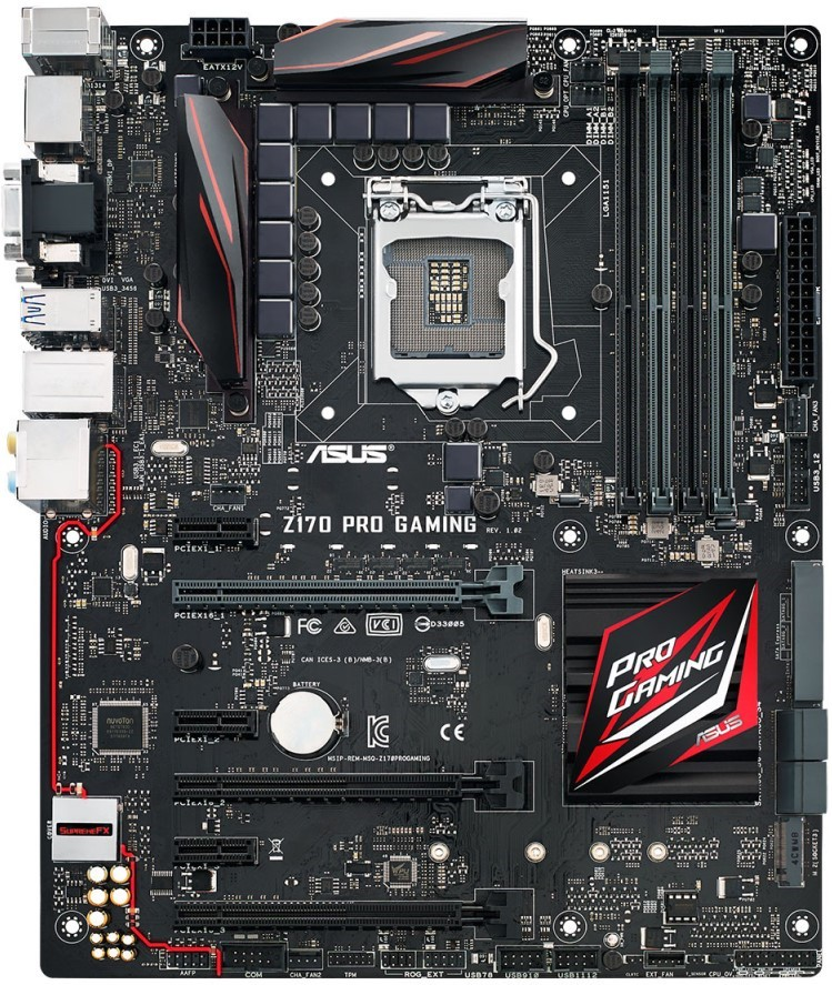 Asus Z170 Pro Gaming Features and Specifications