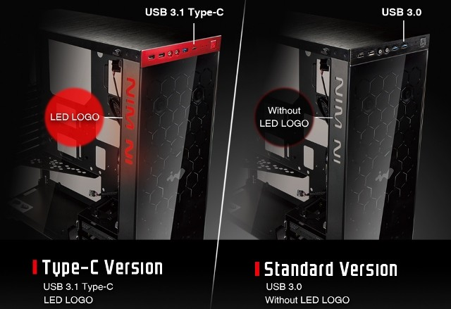 In Win 805 Mid Tower Case with Type-C