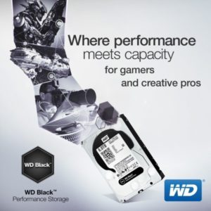 WD Black 6TB and 5TB Performance Hard Drives Now Available