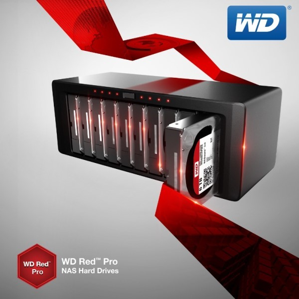 WD Red Pro 6TB and 5TB Hard Drives Now Available, See Features and Specifications