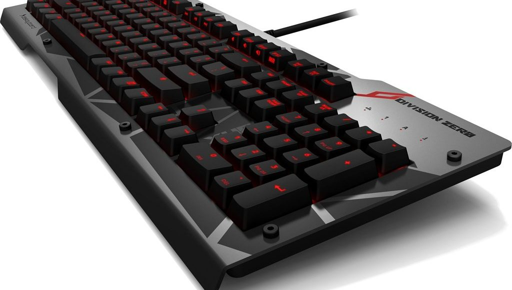Das Keyboard Division Zero X40 Mechanical Gaming Keyboard