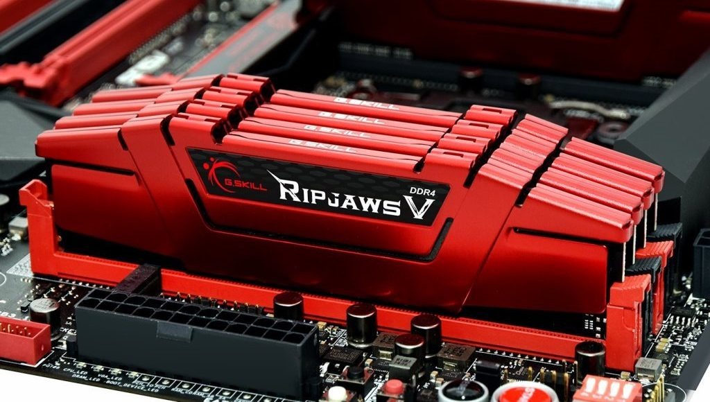 G.Skill Ripjaws V DDR4-3000MHz 128GB Red
